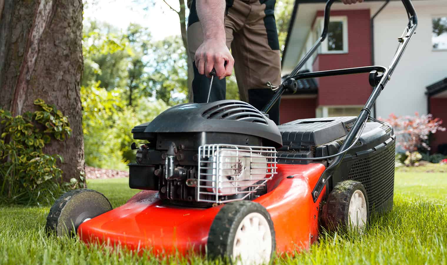 Summer Lawnmower Maintenance